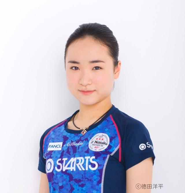 伊藤美誠 プロフィール顔写真